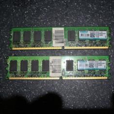Kit memorie ram desktop 2gb ddr2 (1gb+1gb) / 800mhz Kingmax, Dual channel
