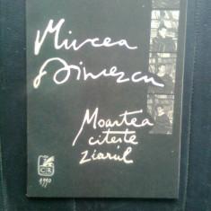 Mircea Dinescu - Moartea citeste ziarul (Editura Cartea Romaneasca, 1990) - Carte poezie