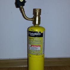 BRENER SUDURA CU APRINDERE PIEZOELECTRICA + BUTELIE GAZ