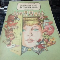 Lewis Carroll - Peripetiile Alisei in tara minunilor - Carte Basme