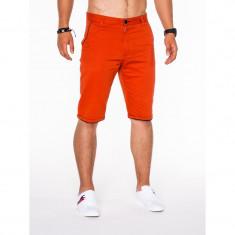 Pantaloni scurti barbati P520 ORANGE NEW - Bermude barbati, Marime: S, M, L, XL, XXL, XXXL, Culoare: Din imagine, Bumbac