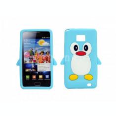 Husa silicon model pinguin Samsung Galaxy S2 i9100