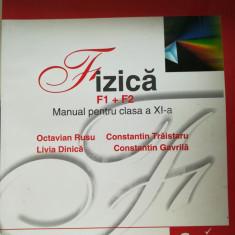 Manual Fizică Clasa a XII-a F1+F2 - Manual scolar corint, Clasa 11