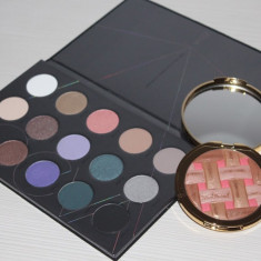 Set machiaj - Pudra Iluminatoare Too Faced + Trusa Zoeva Cool Spectrum - Trusa make up