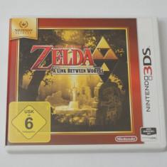 Joc Nintendo 3DS - The Legend of Zelda A Link Between Worlds - Jocuri Nintendo 3DS, Actiune, Toate varstele, Single player