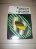 PROSPECTAREA  GEOCHIMICA A ZACAMINTELOR DE MINEREURI O.BURACU