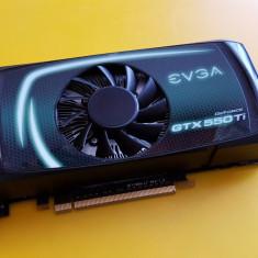 52G.Placa Video EVGA GTX 550 TI, 1GB DDR5-192Bit, PCI-e, 2xDVI, 1xMini HDMI - Placa video PC Evga, PCI Express, nVidia