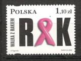 Polonia.2002 Campanie impotriva AIDS si cancerului  SP.771