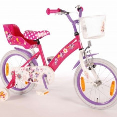 Bicicleta Minnie Mouse 16 inch E&L Cycles - Bicicleta copii E&L Cycles, Roz