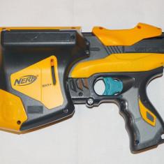 Pistol NERF Dart Tag Speedload 6 - cu magazie laterala pentru 6 cartuse - Pistol de jucarie nerf, 6-8 ani, Plastic, Unisex