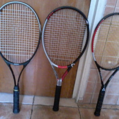 3 rachete tenis - Racheta tenis de camp