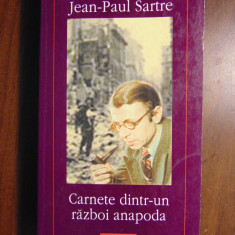 Carnete dintr-un razboi anapoda - Jean-Paul Sartre (Polirom, 2000)