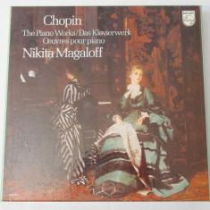 Discuri vinil - Chopin The Piano Works Nikita Magaloff - editie de colectie - Muzica Opera Altele