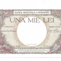 SV * Romania 1000 LEI 1938 AUNC+ / UNC - Bancnota romaneasca