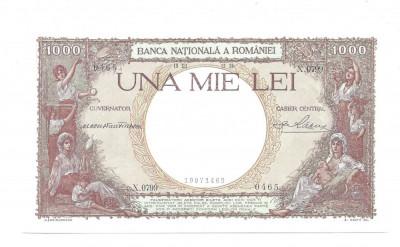 SV * Romania  1000  LEI  1938  *  Regele  Carol  II     UNC foto