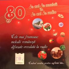 Compilatie Roton - 80 Ani De Muzica In 80 Ani De Radio (box-set cu 4 CD-uri) - Muzica Pop