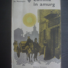 XAVIER DE MONTEPIN - LUMINA IN AMURG - Roman