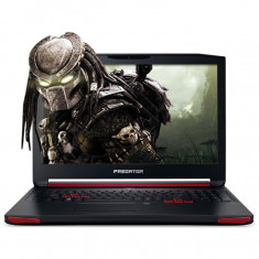 Laptop gaming Acer Predator G9-793 17.3 Inch Full HD IPS Intel Core I7-7700HQ Kaby Lake 16 GB RAM 256 GB SSD nVidia GTX 1070 8 GB GDDR5 Linux Negru - Laptop Acer