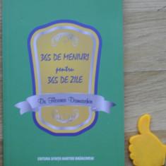 365 de meniuri pentru 365 de zile Floarea Damaschin - Carte Retete de post