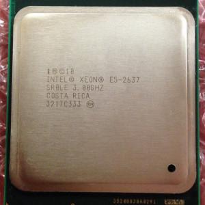 Vand 2 x procesoare Intel Xeon E5-2637 SR0LE 3,0 ghz, L318B060, socket FCLGA2011