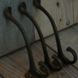 SET 3 CUIERE DE CFR CONFECȚIONATE DIN BRONZ - PROVIN DE LA VAGOANE DE EPOCĂ! - Metal/Fonta, Ornamentale