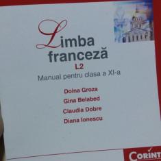 Manual Franceza - Manual scolar corint, Clasa 11, Limbi straine
