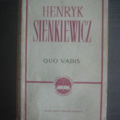 HENRYK SIENKIEWICZ - QUO VADIS - Roman