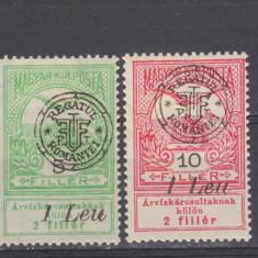 Romania 1919 Emisiunea Oradea Inundatia MNH - Timbre Romania, Oameni, Nestampilat