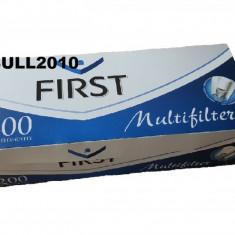 Tuburi FIRST CU CARBON ACTIV 200 tuburi tutun, filtre tigari multifilter - Foite tigari