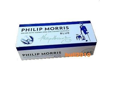 PHILIP MORRIS CU CARBON ACTIV  200 tuburi tutun, filtre tigari multifilter foto mare