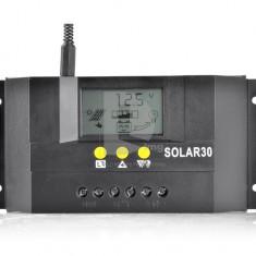 REGULATOR / CONTROLLER SOLAR SOLAR-30 30A LCD Panouri fotovoltaice
