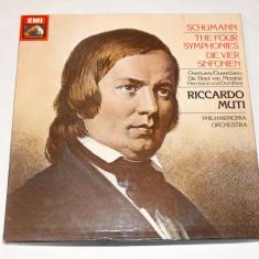 Discuri vinil - Schumann Riccardo Muti 3 discuri - editie de colectie - Muzica Opera Altele