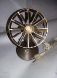 Lampa antica de birou,lampa tip veioza veche alama/bronz,transport gratuit