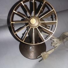 Lampa antica de birou, lampa tip veioza veche alama/bronz, transport gratuit