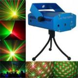 Laser disco lumini club puncte rosu/verde