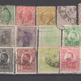 Romania  1872-1906  Carol I   Lot 23  valori  stampilate, Regi, Stampilat