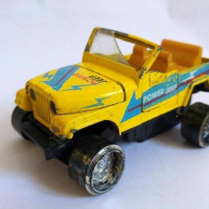 Masinuta metal Power Jeep, Made in China, 10x5x7cm