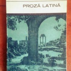 Proza Latina: Cicero, Caesar, Seneca etc. - Roman