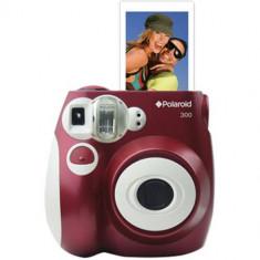 Aparat foto Polaroid Pic 300 Instant Analog Rosu - Aparate foto compacte