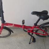 Bicicleta pliabila japoneza Oyama Rockaway rapida, usoara, gen cursiera