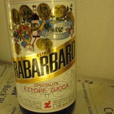 Lichior 25 - zucca elixir rabarbaro, Cl. 100 gr. 16 ani 60