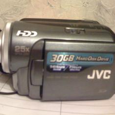 Schimb camera JVC 30 Gb hard, 24X, 2.2-55mm ca noua cu Iphone 5 - Camera Video