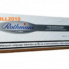 ROTHMANS SILVER CU CARBON ACTIV 100 tuburi tutun, filtre tigari multifilter - Foite tigari