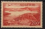 Algeria, posta aeriana, 1957, baraj, MNH**, Nestampilat