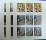 YEMEN - PICTURA ZIUA MAMEI , 1968, 6 X  6 V  IN COLI, NEDANT.,  NEOBLIT - YK 040