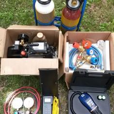 Kit mobil frigotehnist (sudura autogen, pompa, vid), complet NOU!!!
