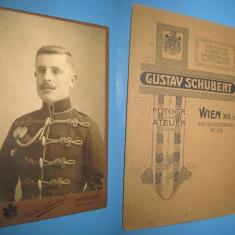Set 4 buc CDV Foto Militare: Germania, Austro-Ungaria. Originale, anii 1900. - Fotografie