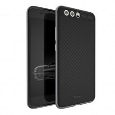 Husa Ipaky Huawei P10 - Bonus Folie Protectie - Husa Telefon Huawei, Gri, Gel TPU