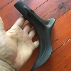 Scule / unelte vechi - Nicovala cizmarie / cal / calapod picior de femeie ! - Metal/Fonta