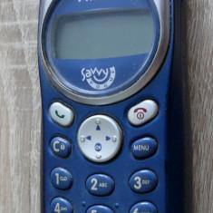 Telefon Philips Savvy Vogue DB - classic de colectie, Albastru, Nu se aplica, Neblocat, Fara procesor